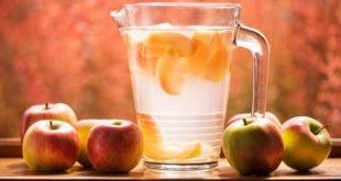 Компот из свежих яблок и груш