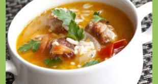 Суп из картофеля с чоризо
