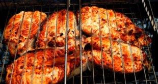 приготовления лосося гриль