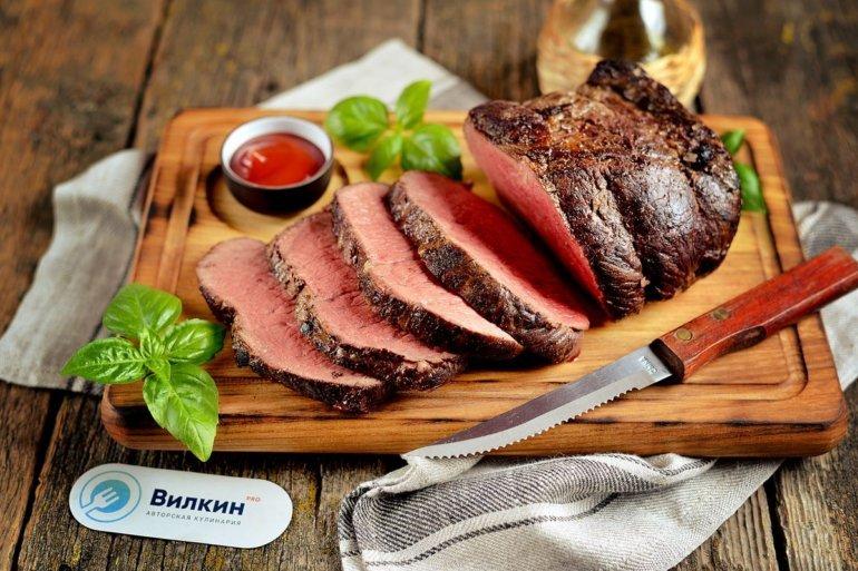 Классический рецепт ростбифа из говядины
