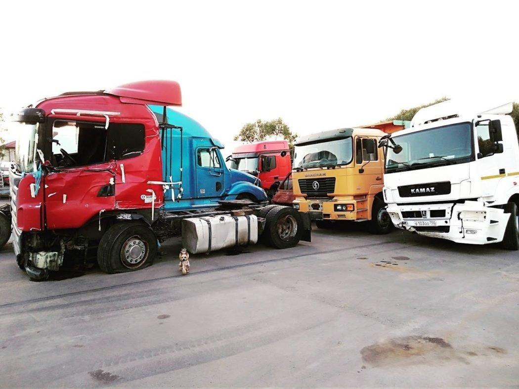 Разборка грузовиков