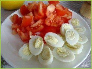 Авокадо с креветками - фото шаг 3