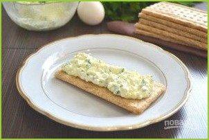 Белковый салат с зеленью - фото шаг 7