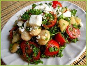 Быстрый салат с фасолью - фото шаг 3