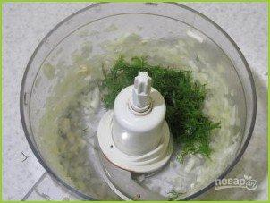 Луковые сухарики к салатам и супам - фото шаг 2