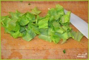 Салат из редьки с яйцом - фото шаг 4