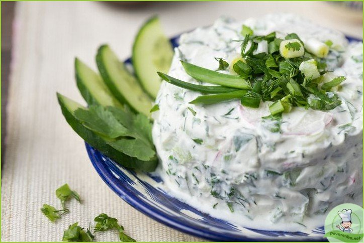 Салат из сузьмы - фото шаг 1