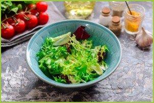 Салат с брокколи и кукурузой - фото шаг 2