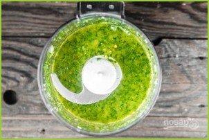 Салат с запеченными баклажанами - фото шаг 4