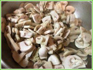 Тетрацини с грибами - фото шаг 1
