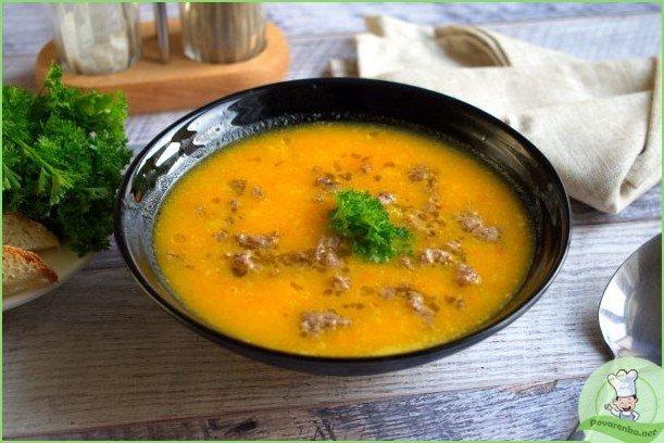 Острый тыквенно-морковный суп - фото шаг 1
