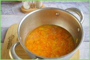 Острый тыквенно-морковный суп - фото шаг 4