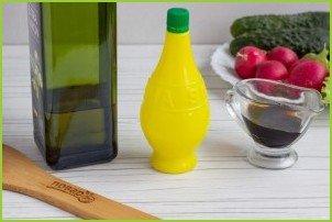 Салат с сырными шариками - фото шаг 4