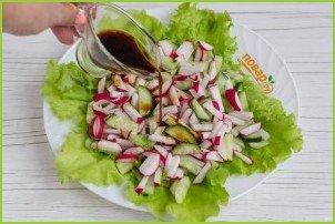Салат с сырными шариками - фото шаг 7