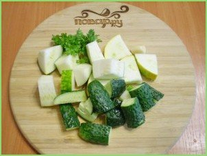 Сыроедческий суп-пюре - фото шаг 2