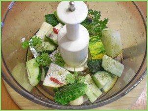 Сыроедческий суп-пюре - фото шаг 3