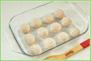 Творожно-куриные шарики под кабачковым соусом - фото шаг 8