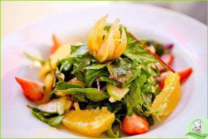 Фруктовый салат с цитрусовой заправкой - фото шаг 1