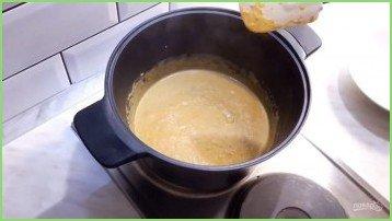 Крем-суп из тыквы с лисичками - фото шаг 4