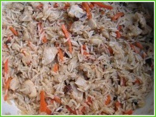 Плов узбекский с курицей - фото шаг 5