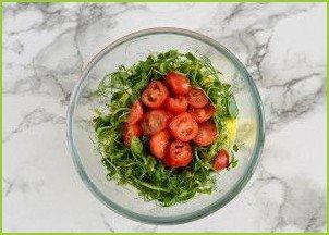 Салат с авокадо и манго - фото шаг 4