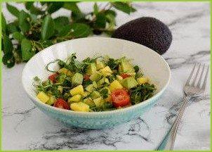 Салат с авокадо и манго - фото шаг 5