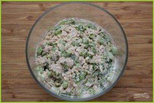 Салат с тунцом (рецепт с фото) - фото шаг 3