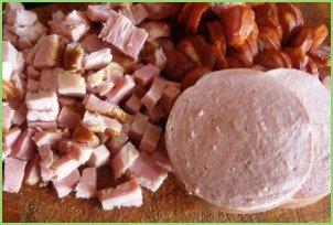 Солянка сборная мясная с капустой - фото шаг 3