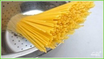 Спагетти с чернилами каракатицы - фото шаг 5