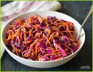 Капустный салат с цитрусовой заправкой - фото шаг 4