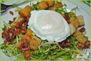 Лионский салат - фото шаг 5