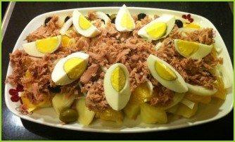 Малагский салат - фото шаг 9