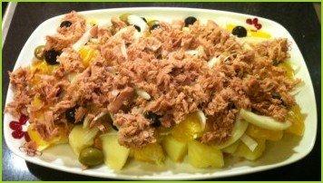 Малагский салат - фото шаг 8