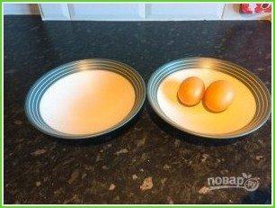 Оригинальная яичница на завтрак - фото шаг 1