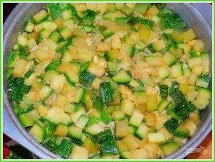 Овощное рагу с мясом в духовке - фото шаг 5