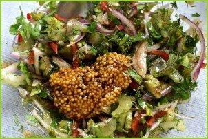 Пикантный картофельный салат - фото шаг 2