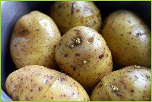 Пикантный картофельный салат - фото шаг 3