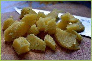 Пикантный картофельный салат - фото шаг 5
