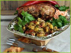 Пикантный картофельный салат - фото шаг 8