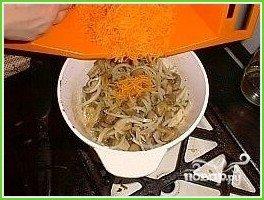 Постный плов с грибами - фото шаг 6
