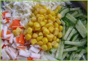 Салат из кукурузы и яиц - фото шаг 5