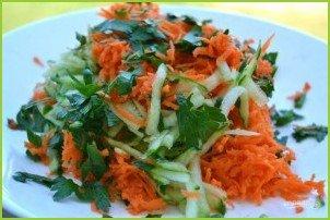 Салат из огурца и моркови - фото шаг 6
