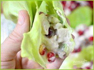 Салат из отварной курицы - фото шаг 6