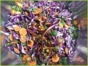 Салат из свежей капусты с уксусом - фото шаг 3