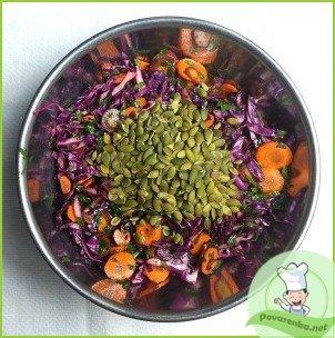 Салат из свежей капусты с уксусом - фото шаг 4
