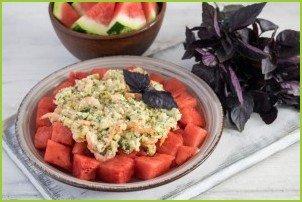 Салат с арбузом и креветками - фото шаг 6