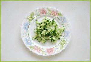Салат с картофелем пай - фото шаг 6