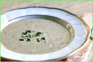 Суп-крем из шампиньонов - фото шаг 1