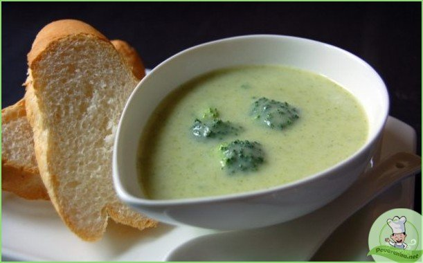 Суп-пюре из брокколи - фото шаг 1