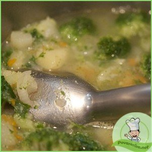 Суп-пюре из брокколи - фото шаг 8